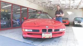 1991 BMW 850I  for sale with test drive, driving sounds, and walk through video