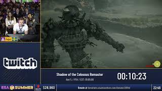 #ESASummer18 Speedruns - Shadow of the Colossus Remaster [Any%] by Elajjaz