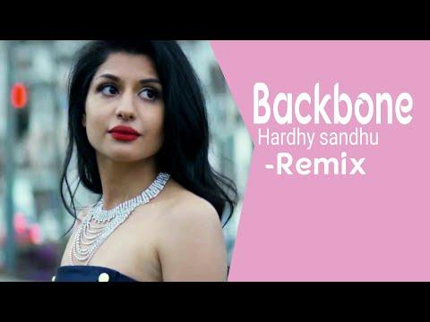 Backbone - Hardy Sandhu || DJ Vispi Remix || AIDC visual