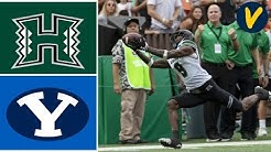 Hawaii vs BYU Highlights | 2019 Hawaii Bowl | College Football