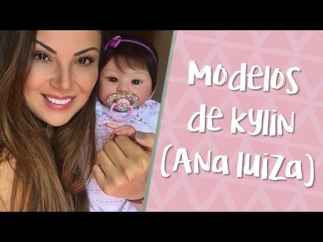 Bebês Reborn - Ana Luiza e suas variações - Kit Kylin