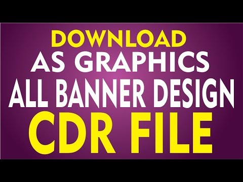 Coreldraw X7 Tutorial - Download AS GRAPHICS ALL - Banner
