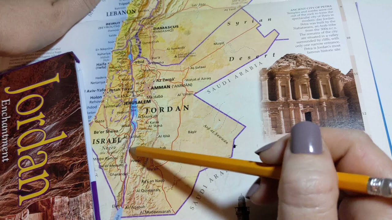 Download ASMR ~ Jordan History and Geography ~ Soft Spoken Page Turning