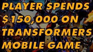 One Player Spent $150,000 On A Bad Transformers Game