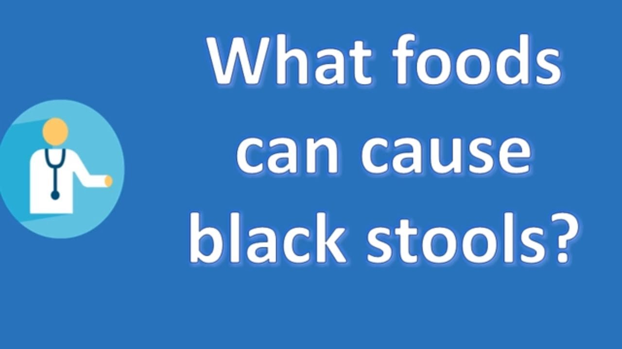 What Foods Can Cause Black Stools Best Health Channel
