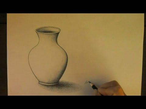 Simetr a volumen como dibujar un jarr n buena simetr a for Dibujar un mueble en 3d