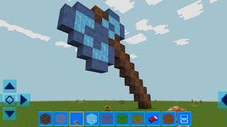 RealmCraft mit Skins Exportieren zu Minecraft Gameplay #173 (iOS & Android) | Diamant Axt