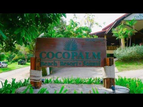 walk inside Cocopalm Beach Resort , Koh Samui