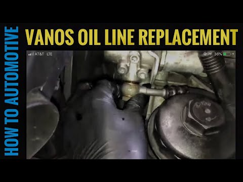How to Replace the Vanos Oil Line on a 2006 BMW X3 with 3.0 L Engine