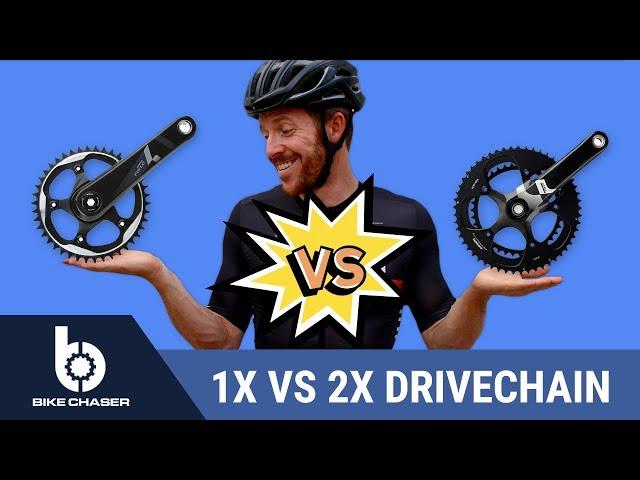 SRAM 1x VS 2x Drivetrain (What's Best for Road Cycling?)