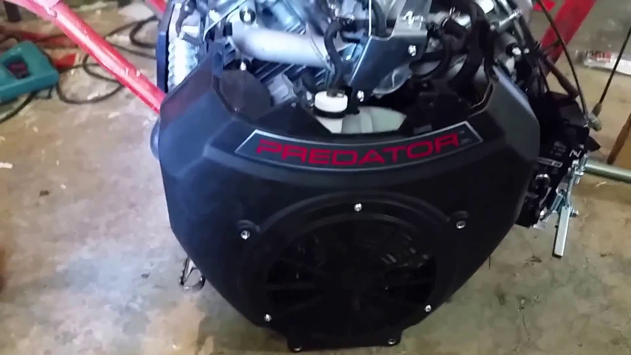 Predator 670cc V Twin  American Boathead 02:21 HD