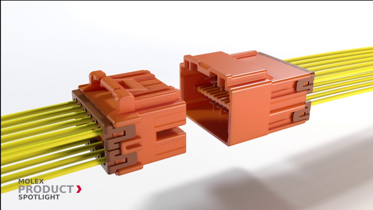 Molex Product Spotlight Cp 33 Wire To Connector System 3 Harness