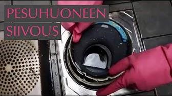 Kuinka usein kylpyhuone tulisi siivota: lattiakaivo, laatat, saumat ja hanat