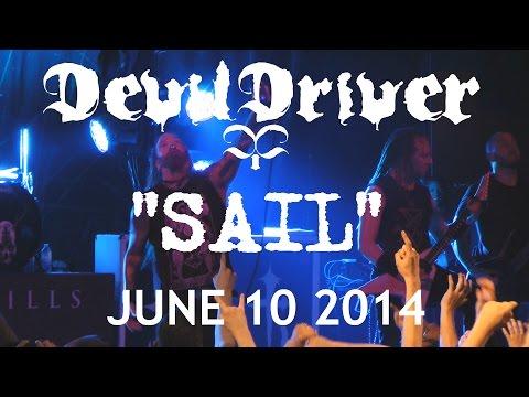 DEVILDRIVER- SAIL -LIVE HD-JUNE 10 2014-TORONTO
