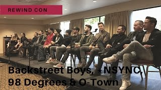 We interviewed your favorite boy band members at REWindCon in Illin...