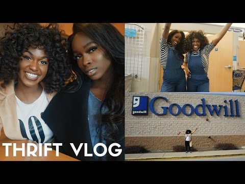 Baixar VLOG | COME THRIFTING WITH ME | GOODWILL THRIFT HAUL + TRY ON