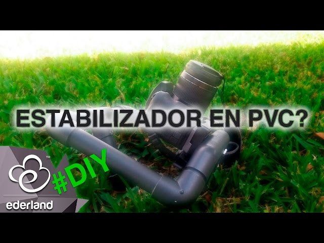 Fabrica un Estabilizador para cámara en PVC - #DIY