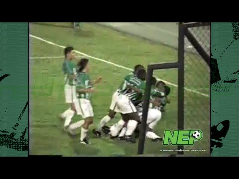 Nacional golea a Univeristario (Perú) por la Copa Merconorte...
