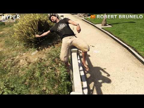Видео про гта 5 смешные приколы