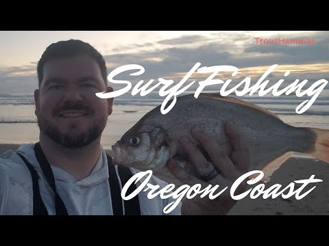 Surf Fishing The Oregon Coast - Lincoln City