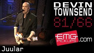 Devin Townsend performs 'Juular' on EMGtv
