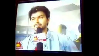 Actor Vijay Speaks about Thala MS Dhoni
