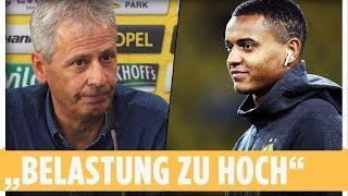 Nächster BVB-Ausfall: Akanji verletzt, Reus angeschlagen | Favre-PK