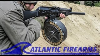 Testing The VEPR 12 SGM 25rd DRUM at Atlantic Firearms