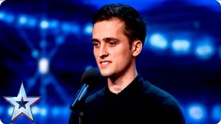 Jacob Hirst is a bit too high for the Judges | Week 2 Auditions | Britain's Got Talent 2016
