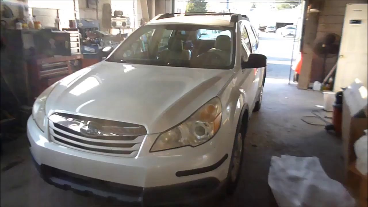 Subaru Outback Paint Code Location Youtube