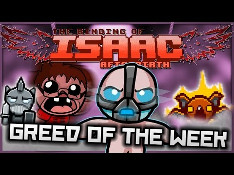 The Binding of Isaac: Afterbirth - Greed of the Week: Ultimate Space Laser!