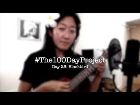 Day 28: Blackbird - the Beatles ukulele cover // #100DaysofUkuleleSongs