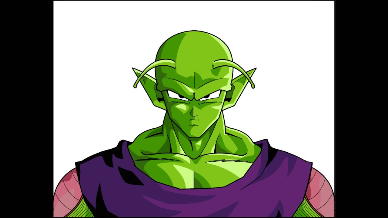 Wallpaper Hd King Piccolo Desenho No Paint Por Nicolas Blauth De Mattos