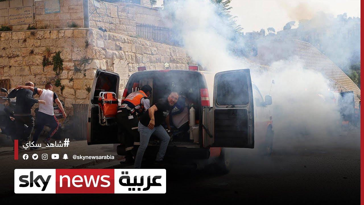 إطلاق قذائف صاروخية من غزة على القدس ومناطق أخرى  - نشر قبل 10 ساعة
