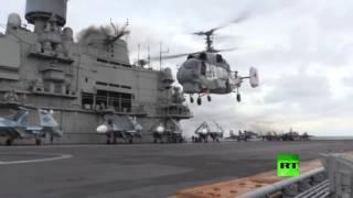 """""""الأميرال كوزنيتسوف"""" في طريقها إلى سواحل سوريا"""
