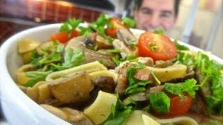 Chicken & Mushroom Tagliatelle: A Simple, Tasty, Pasta Treat