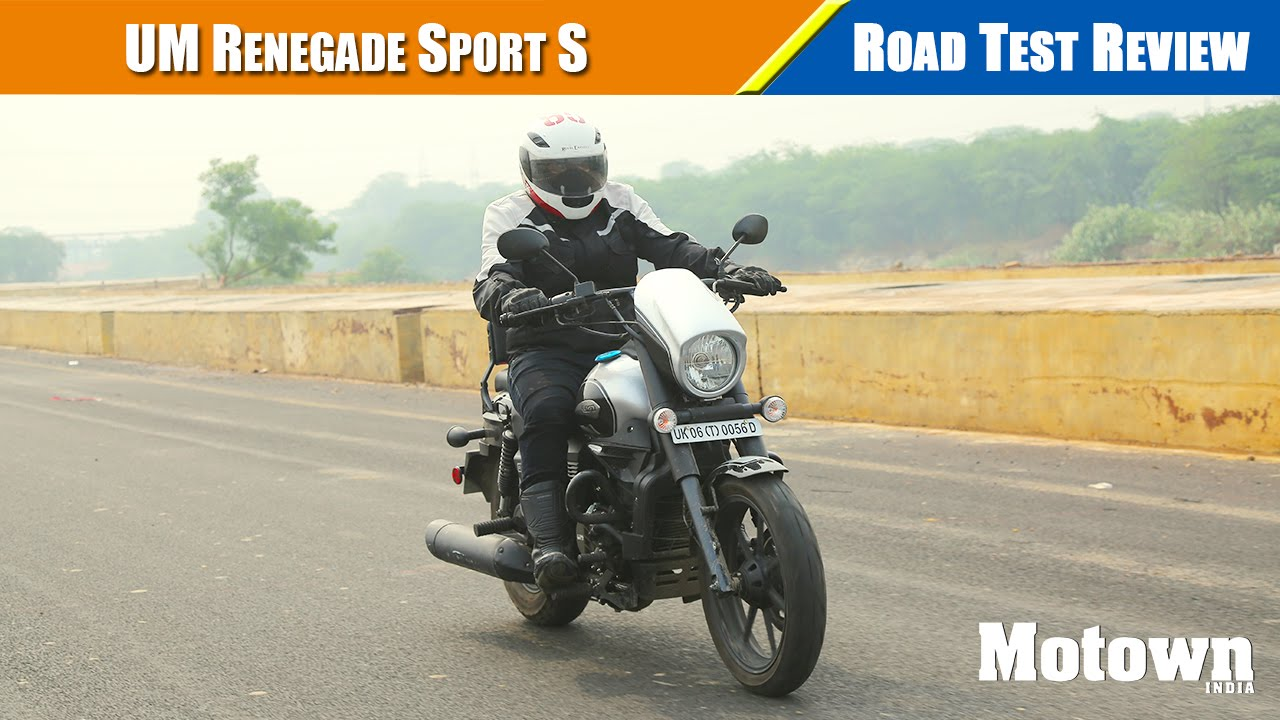 UM Renegade Sport S | First Ride | Motown India
