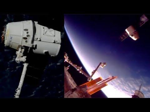 SpaceX CRS-12: Dragon's departure from the ISS, 17 September 2017