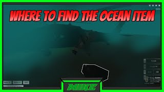Roblox Blackhawk Rescue Mission Where To Find The Ocean Item | All 3 New Items In BRM Roblox |