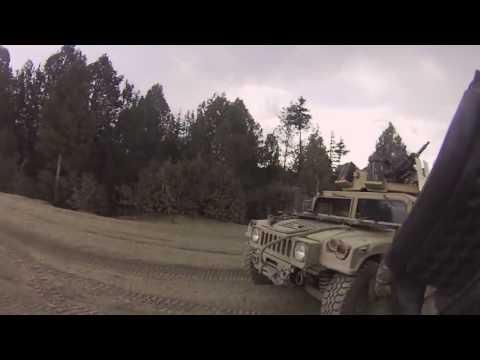 Green Beret ODA Team Reinforces Army Rangers After Ambush.