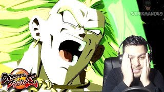 THE LEGENDARY SUPER SAIYAN LOOKS AMAZING!!! - Dragon Ball FighterZ