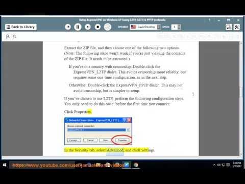 Setup ExpressVPN on Windows XP via L2TP/SSTP/PPTP protocols