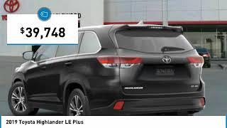 2019 Toyota Highlander LE Plus Maplewood, St Paul, Minneapolis, Brooklyn Park, MN K14210