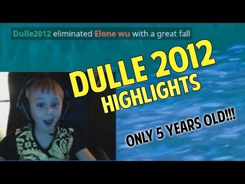 Dulle2012 Highlights - Fortnite Battle Royale på Svenska (ONLY 5 YEARS OLD)