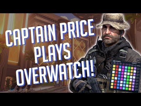 Captain Price Plays OVERWATCH! Soundboard Pranks in Competitive!