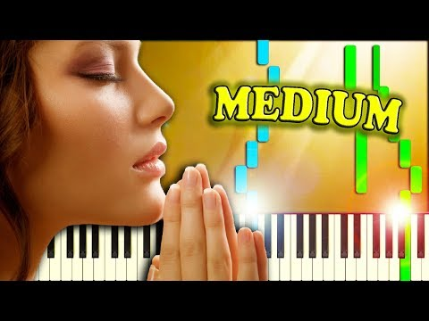 O COME, ALL YE FAITHFUL (Christmas Carol) - Piano Tutorial