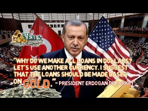 Turkey Repatriates Gold From USA To Ditch The Dollar