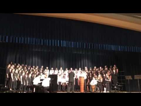 2nd song crossroads north middle school north stars choir 6/2/2017