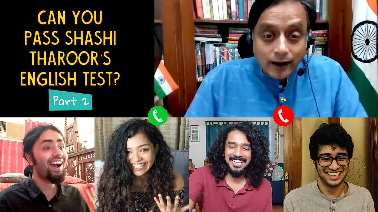 Can You Pass Shashi Tharoor's English Test? Part-2 | Ok Tested