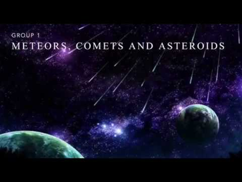 What are Meteors, Asteroids and Comets ( MUST WATCH!! )